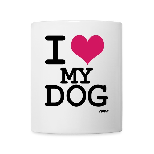 I Love My Dog - Mug - Mug