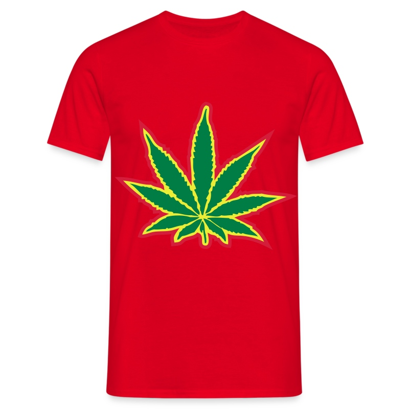 Rebel Army Weed Tee - Men's T-Shirt