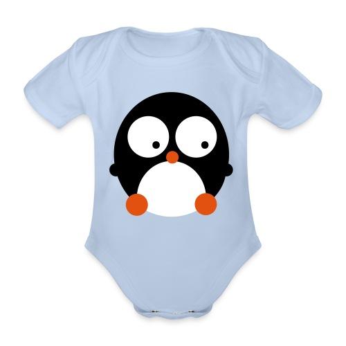 Pinguin - Organic Short-sleeved Baby Bodysuit