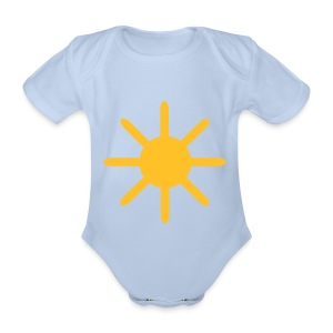 Sun - Organic Short-sleeved Baby Bodysuit