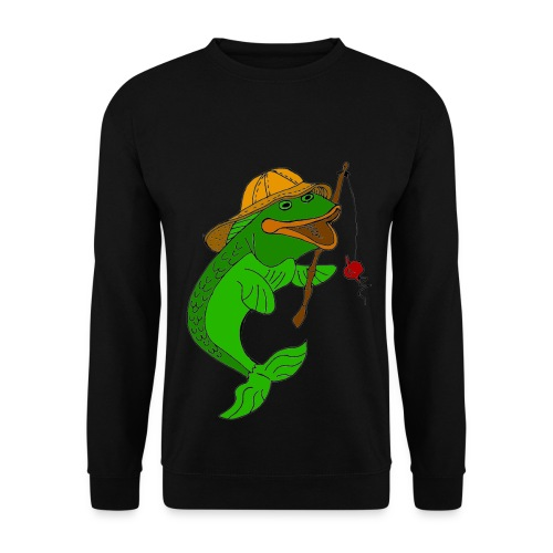 Pull homme poisson - Sweat-shirt Homme