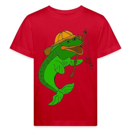 T shirt enfant poisson - T-shirt bio Enfant