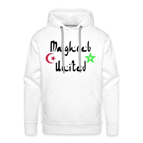 maghreb united - Sweat-shirt à capuche Premium pour hommes