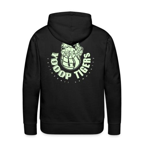 Le Phospho-Sweat YOOOP Noir - Sweat-shirt à capuche Premium pour hommes