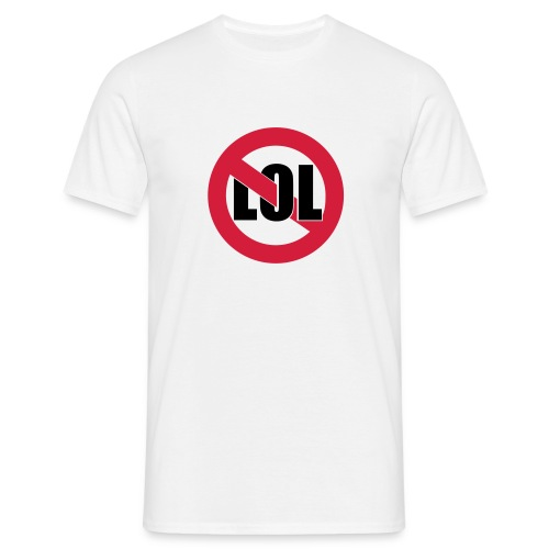 No lol - T-shirt Homme