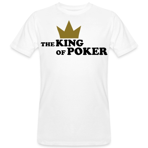 the King of poker - Ekologisk T-shirt herr