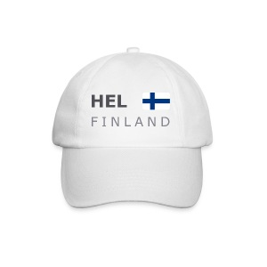 Base-Cap HEL FINLAND dark-lettered - Baseball Cap