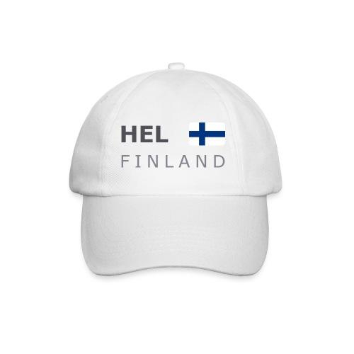 Base-Cap HEL FINLAND dark-lettered - Baseball Cap