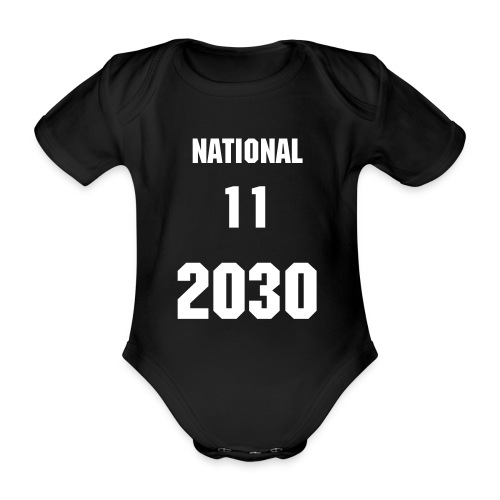 National 11 2030 - Baby Bio-Kurzarm-Body