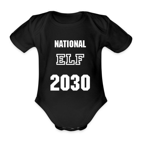 National ELF 2030 - Baby Bio-Kurzarm-Body