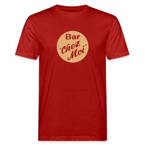 Die Bar (klassisch) – Bio / rot - Männer Bio-T-Shirt