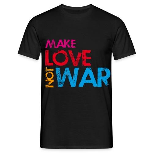 make love not war - Mannen T-shirt