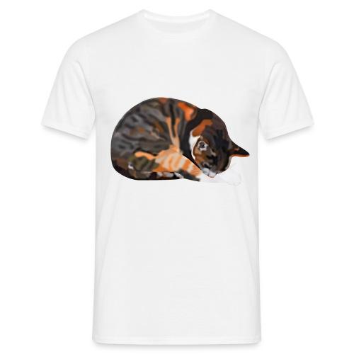 T-Shirt mit Katze Thamar - Männer T-Shirt