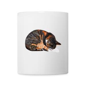 Tasse mit Katze Thamar - Tasse
