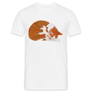 T-Shirt -- Katze Ramses - Männer T-Shirt