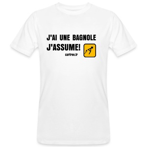 j'assume - T-shirt bio Homme