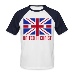 United In Christ - Men's Baseball T-Shirt