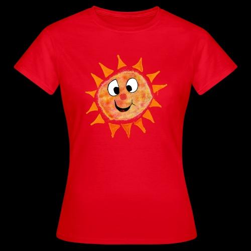 Sonne - T-skjorte for kvinner