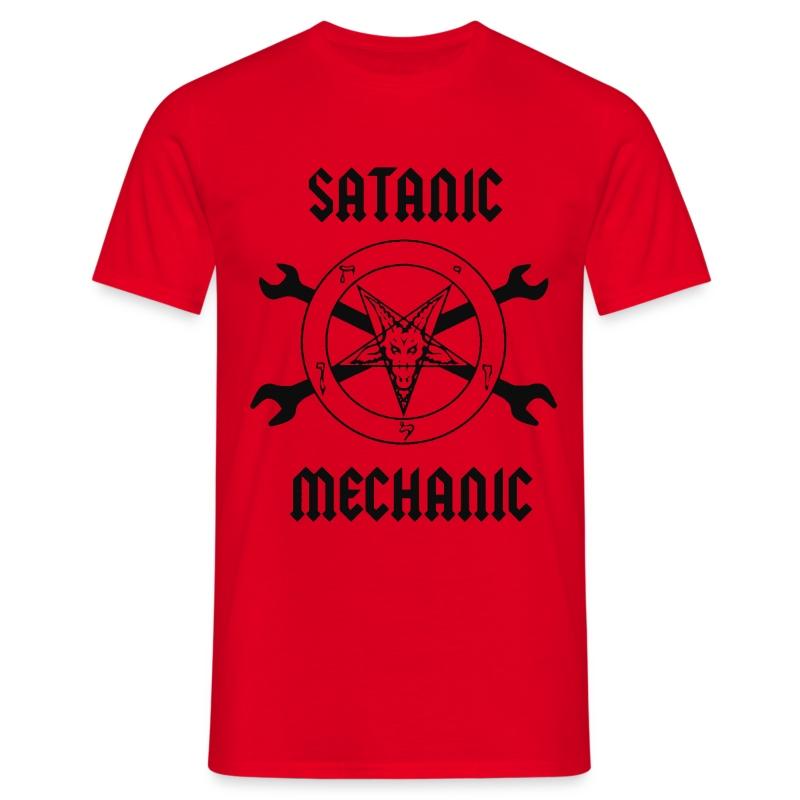 Satanic Mechanic T-Shirt - Men's T-Shirt