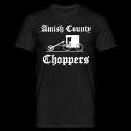 T-Shirts ~ Men's T-Shirt ~ Amish County Choppers T-Shirt
