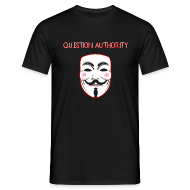 T-Shirts ~ Men's T-Shirt ~ Question Authority T-Shirt
