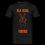 T-Shirts ~ Men's T-Shirt ~ Old Skool Vee Dub T-Shirt
