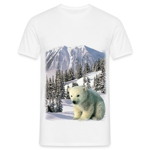 T shirt homme ours - T-shirt Homme