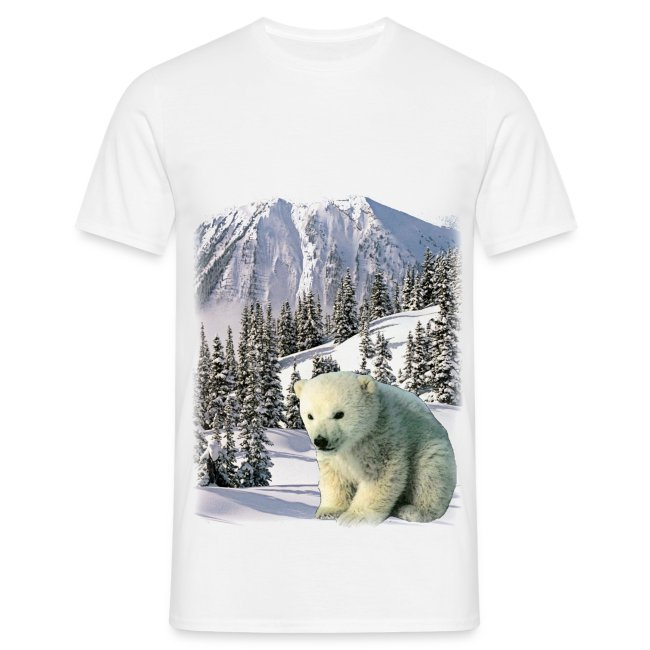 T shirt homme ours