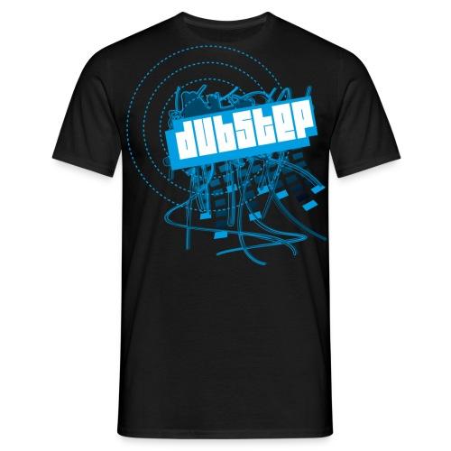 DubStep Equalizer Blue - Männer T-Shirt