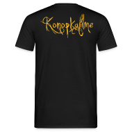 T-Shirts ~ Männer T-Shirt ~ Konopkafilme-Schulter