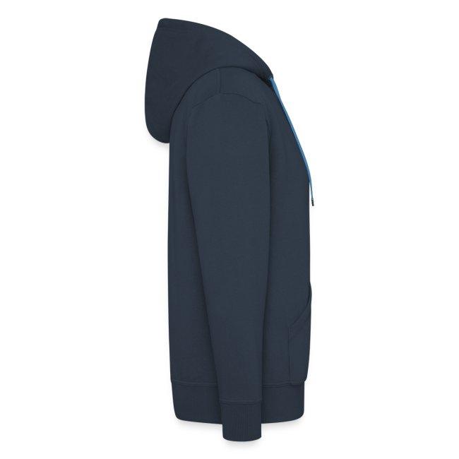 Männer Kapuzenjacke mit Reißverschluss - Elche Logo