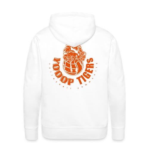 Sweat Blanc - Sweat-shirt à capuche Premium pour hommes