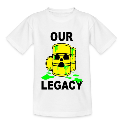 T-Shirt Kids Our Legacy © by kally ART®  - Teenager T-Shirt