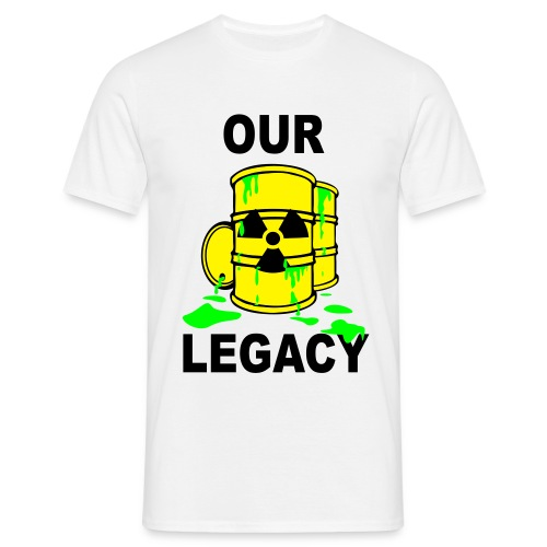 T-Shirt Mann Our Legacy © by kally ART®  - Männer T-Shirt