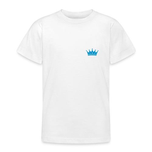 Kleiner Prinz mit Krone - Teenager T-Shirt