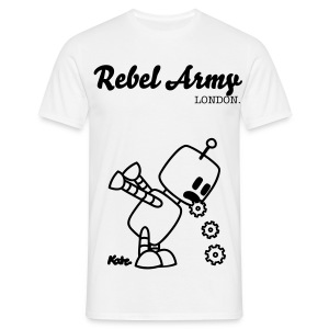 Rebel Army x Robo Kotz Tee - Men's T-Shirt