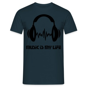 Music is my life (homme) - T-shirt Homme