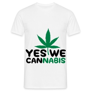 Yes We Cannabis - Mannen T-shirt