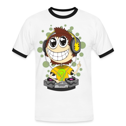 Party DJ - Men's Ringer Shirt