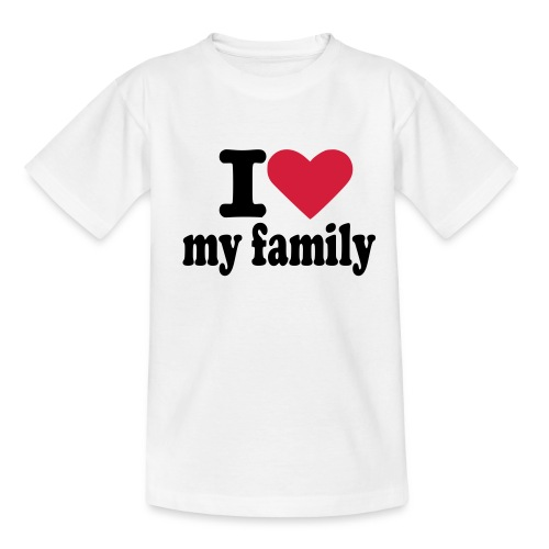 My Family - Teenager T-Shirt
