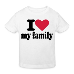 My Family I - Kinder Bio-T-Shirt