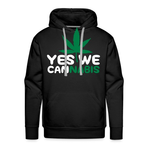 Yes We Cannabis. - Herre Premium hættetrøje