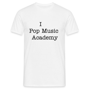 I love Pop Music Academy t-shirt - Mannen T-shirt