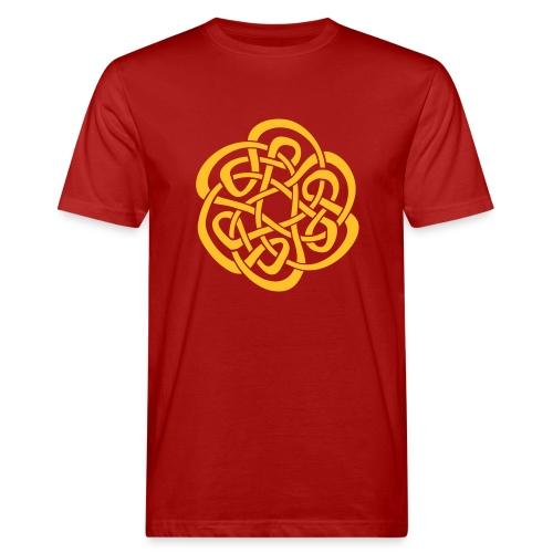 Keltenknopf - Männer Bio-T-Shirt