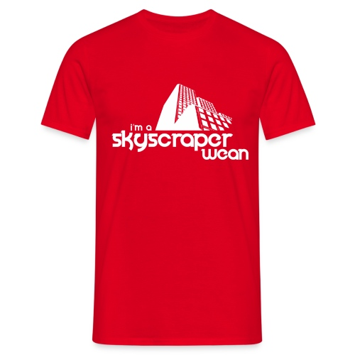 Skyscraper Wean - Men's T-Shirt
