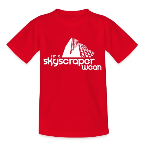 Skyscraper Wean - Teenage T-Shirt