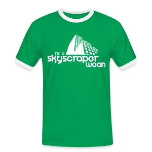 Skyscraper Wean - Men's Ringer Shirt