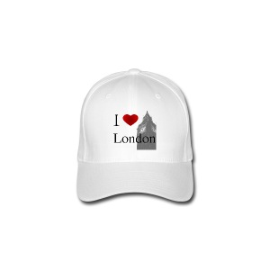 I Love London FlexFit BaseBall Cap - Flexfit Baseball Cap