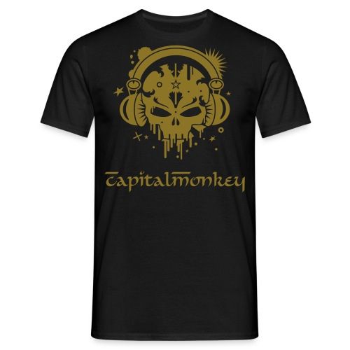 Monkey Skull ? - Men's T-Shirt