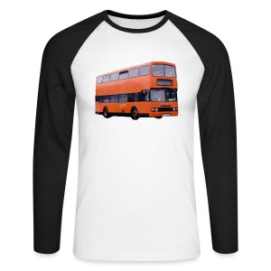 Strathclyde Bus - Men's Long Sleeve Baseball T-Shirt